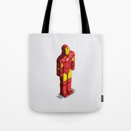 Ironman - Isometric Heroes Tote Bag