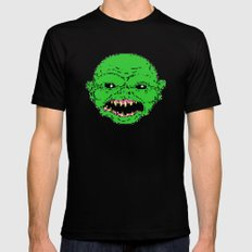 16 bit ghoulie Black Mens Fitted Tee MEDIUM