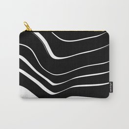 Organic No. 10 Black & White #minimalistic #design #society6 #decor #artprints Carry-All Pouch