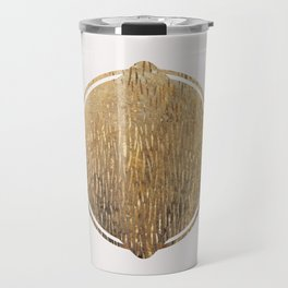 Gold Squircle Travel Mug