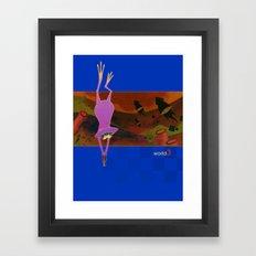 world3 Framed Art Print