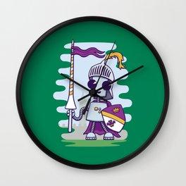 Ned the Knight Wall Clock