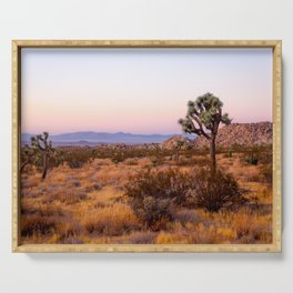 Joshua Tree at Sunset Serving Tray