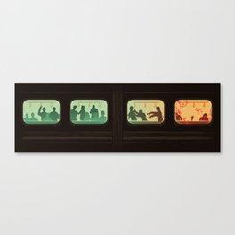 Ground Zero - Zombie Subway Canvas Print