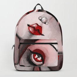 Beauty - red Backpack