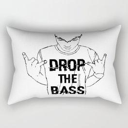 Drop the Bass Rectangular Pillow