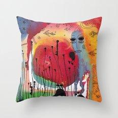 My summer Throw Pillow