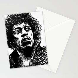 Jimi Hendrix Pop-Art Stationery Cards