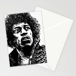Jimi Hendrix Pop-Art Stationery Cards