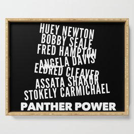 Panther Power Serving Tray