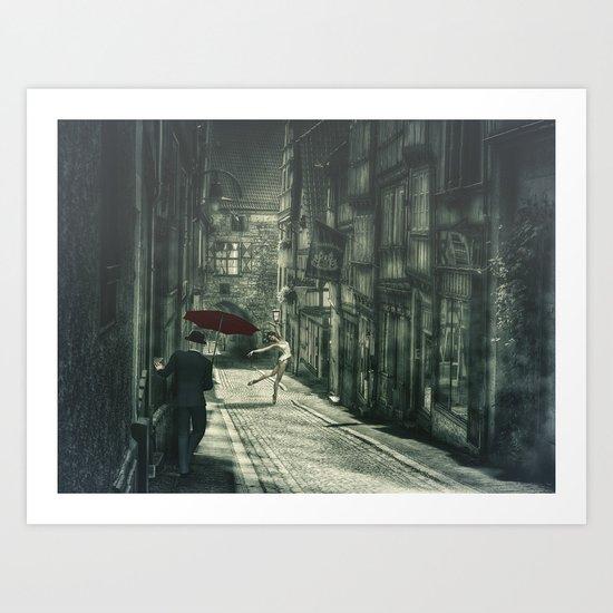Mysterious Night Art Print
