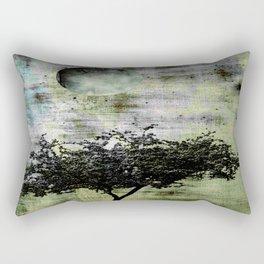 Worn Landscape Rectangular Pillow