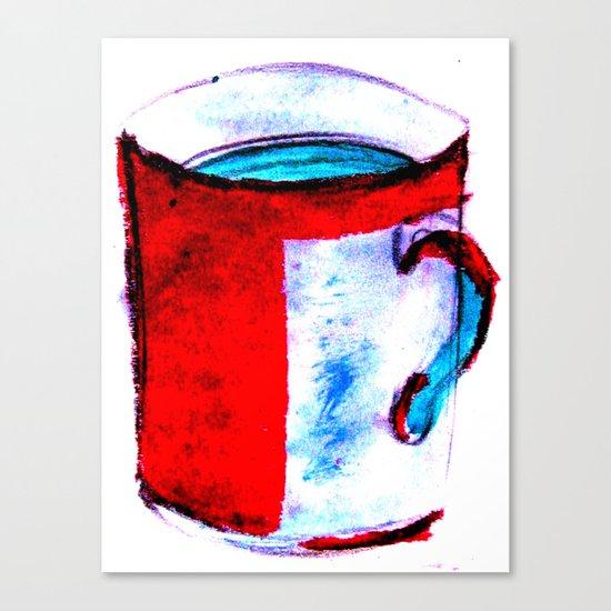 big coffee cup Canvas Print