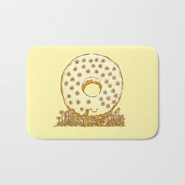In Bloom Donut Bath Mat