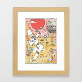 NKI-2 Framed Art Print