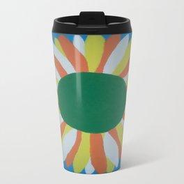 Colorful Sunflower Travel Mug