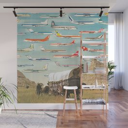 Over There Yonder Wall Mural