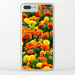 Flower carnation Clear iPhone Case