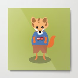 Raphael, The Fox Metal Print