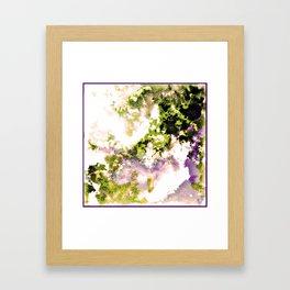 - minimal night - Framed Art Print