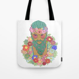 He must smell nice Tote Bag