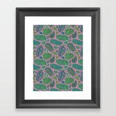 Nugs in Color Framed Art Print