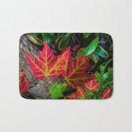 The Maple Leaf Bath Mat