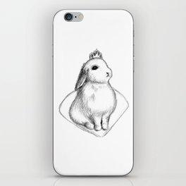 Bunny Princess #2 iPhone Skin