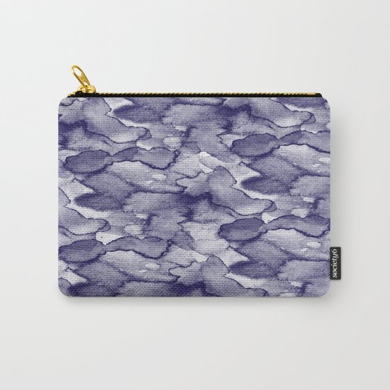 Abstract Carry-All Pouch