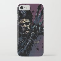 eddie vedder iPhone & iPod Cases featuring EVIL EDDIE by Stefano Cardoselli