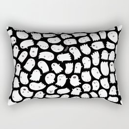 Spooky Kawaii Ghosts Rectangular Pillow