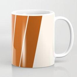 The Skinney - 70's abstract minimal stripe striped pattern retro throwback 1970s art decor Coffee Mug