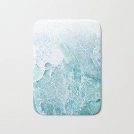 Sea Dream Marble - Aqua and blues Bath Mat