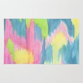 Watercolor Ikat Rug
