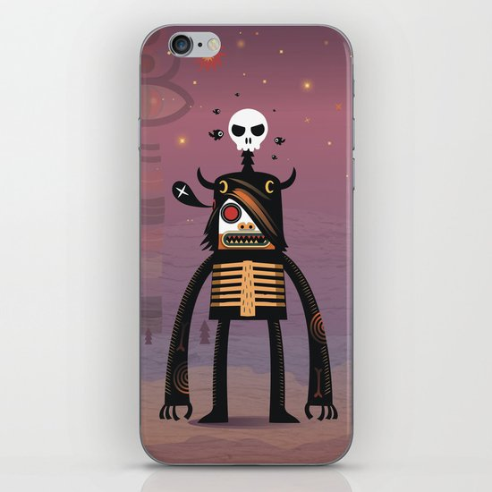 Moon catcher brothers  iPhone & iPod Skin