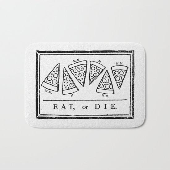 Eat, or Die Bath Mat