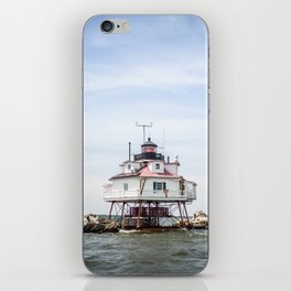 Thomas Point Light House iPhone Skin