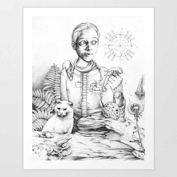 Eldest Sister Art Print