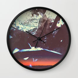 Kaelin Ellis - La Luz Wall Clock