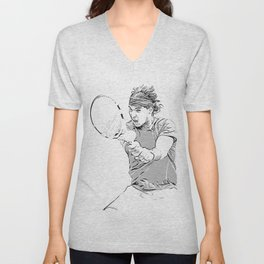 Rafa's Brilliant Backhand Unisex V-Neck