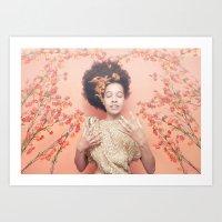 discount Art Prints featuring Crown & Glory - (Valentine's Day Discount) by NDAVISSTUDIO