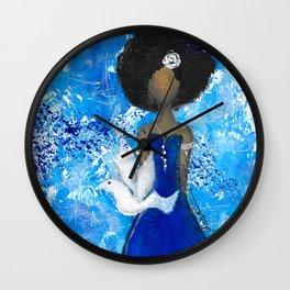 Zeta Angel Wall Clock