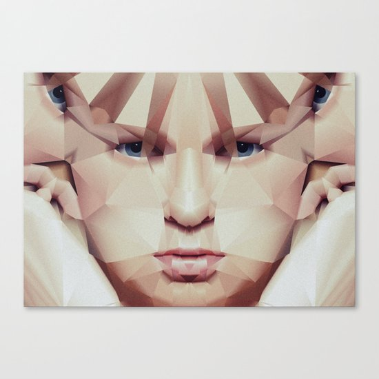 Facet_EF1 Canvas Print
