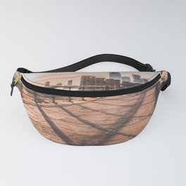 Coral Sun in Battery Park, NYC Fanny Pack