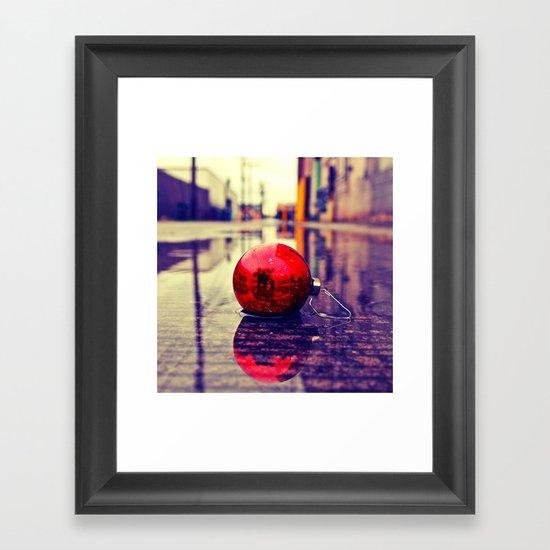 Urban Yuletide Framed Art Print