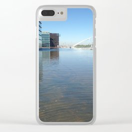 Tempe Art Center Clear iPhone Case