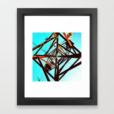About to crumble Framed Art Print