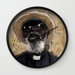 Times Square Preacher Wall Clock