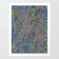 Marble Print #35 Art Print