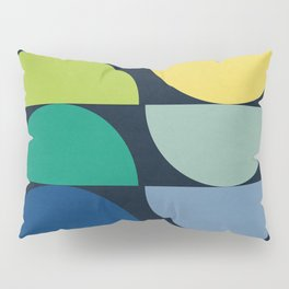 Abstract Flower Palettes Pillow Sham